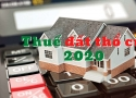 Hướng dẫn cách tính thuế đất thổ cư mới nhất 2020