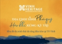 Bảng công khai thông tin về bất động sản đưa vào kinh doanh của dự án Vinh Heritage